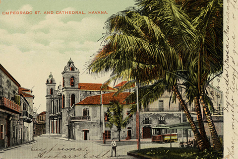 CHC-POSTCARD-COLLECTION-EMPEDRADO-STREET-AND-CATHEDRAL-HAVANA-480x320.jpg